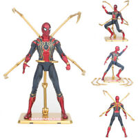 Marvel Spiderman Spider-Man Action Figure Avengers Infinity War Toy Model Hot
