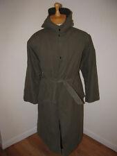 Vintage ww2 parka jacket L military coat 40s pile lined cotton rayson sports vtg