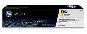 Genuine HP CE312A (126A) Yellow Toner Cartridge