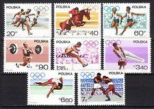 Poland - 1967 Pre-olympia - Mi. 1761-68 MNH