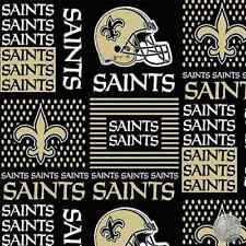 New Orleans Saints NFL Cotton Fabric 6436 D