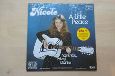 "Nicole Autogramm signed 18x18 cm Single ""A Little Peace"""