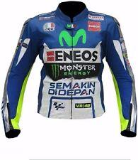 YAMAHA MOTOGP Racing Motorbike Leather Jacket MOTOGP Motorcycle Leather Jacket