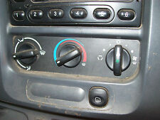 Ford Transit Van VF VH VJ High Roof Climate Control Unit AC Heater Fan Switch