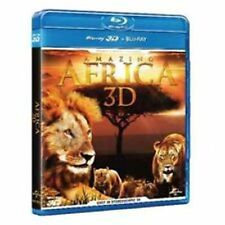 Blu Ray  AMAZING AFRICA 3D (Br+Br 2D/3D) .....NUOVO