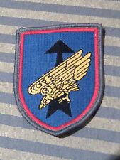 org. Bundeswehr Ärmelabzeichen Luftlandebrigade 26 Saarlouis Fallschirmjäger