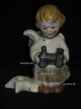 +# A010619_06 Goebel Archiv Muster Engel mit Kerzenhalter und Lok HX235 Plombe