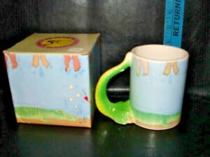 Cup/Mug, ALLIGATOR With 3 D Tail as Handle, by Five & Dime Inc., 1988 #4043