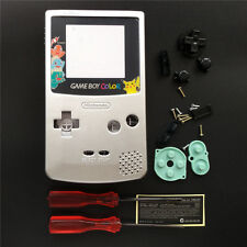 Pokemon Charmander Silver Housing Shell Case For Game Boy Color GBC