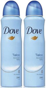 Dove Talco Deodorant Body Spray, 150 ml (Pack of 2)