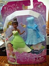 DISNEY PRINCESS FAVORITE MOMENTS TIANA FIGURE & EXTRA OUTFIT *NEW*