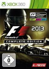 ★XBOX360★SPIEL F1 2013 FORMEL 1 - 2013 COMPLETE  EDITION GETESTET SEHR GUT 782!
