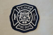 Canadian Calgary Fire Department Patch Obsolete