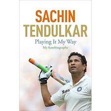 Playing It My Way: My Autobiography by Sachin Tendulkar (Hardback, 2014)