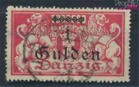 Danzig 189II geprüft gestempelt 1923 Aushilfsausgabe (7178134
