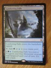 x1 Carte Magic MTG Lumbering falls VO Rare (battle for Zendikar)