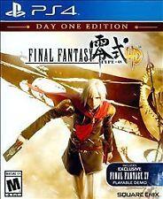 Final Fantasy Type-0 HD -- Day One Edition (Sony PlayStation 4, 2015) EN/FR
