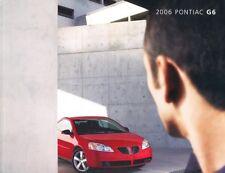 2006 Pontiac G6 36-page Original Car Sales Brochure Catalog - GTP Convertible