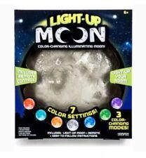 Horizon Light Up Moon 7 Color Changing Illuminating Lamp W/Sleep Timer Beautiful