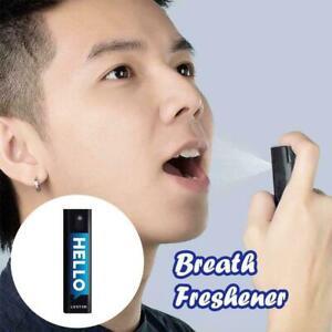 10ml Peach Flavor Breath Freshener Mouth Spray F1G2