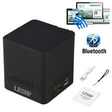4W Portable Mini Bluetooth Speaker Wireless Waterproof Stereo USB/TF/MP3 Black