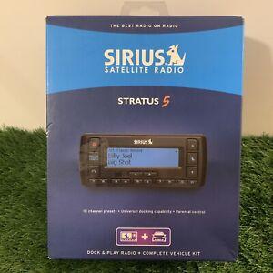 Sirius Satellite Radio Receiver Stratus 5 Model SV5TK1 Complete Car Vehicle Kit