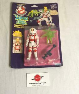 1989 Egon Spengler Super Fright Features Ghostbusters MOC Carded Figure Kenner