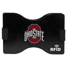 Ohio State Buckeyes Wallet Rfid Blocking Slim Pocket Money Clip Ncaa College Fan
