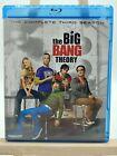 The Big Bang Theory: The Complete Third Season (Blu-Ray, 2010, Widescreen)