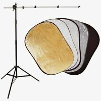 PBL Photo Video 5 in 1 Reflector Boom Stand Arm Steve kaeser Photographic Light