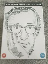 The Woody Allen Collection - new and sealed 20 film dvd box set - region 2