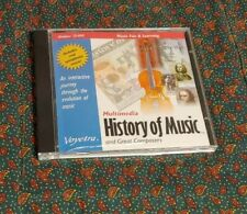 History of Music and Great Composers PC Windows CD-ROM