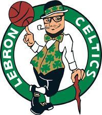 BOSTON-CELTICS-BASKETBALL-NBA- 6 Vinyl HQ Decal Stickers  CAR Laptop WALL