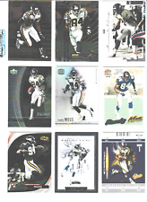 Randy Moss (Vikings)   9 card lot    (AA)
