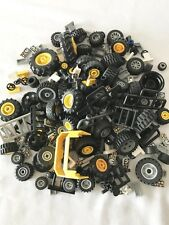 LEGO Wheels/Steering Wheels/Fences & Different Parts of Lego Cars 10 oz.