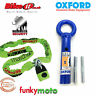 THATCHAM MOTORCYCLE 1.8M CHAINLOCK & OXFORD TERRAFORCE SOLD SECURE GROUND ANCHOR