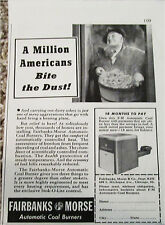 1941 Fairbanks Morse Coal Burner ad