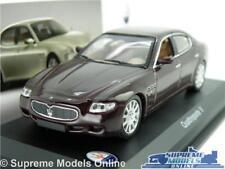 MASERATI QUATTROPORTE V MODEL CAR 2003 1:43 SCALE IXO BURGUNDY SALOON K8Q