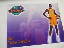 "Lisa Leslie - Autographed 8"" X 10"" Photograph - Wnba Basketball Star"