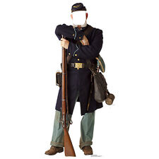 CIVIL WAR UNION SOLDIER Stand-In CARDBOARD CUTOUT Standin Standup Standee Prop