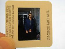 Original Press Promo Slide Negative - George Michael - 1991 - B
