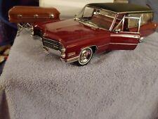 1:18 NIOB Original Precision Miniatures  1966 Cadillac Hearse Maroon PMSC -09M