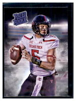 Patrick Mahomes Rated Rookie RC 2016 Aceo Custom Texas Tech Passing Efficiency