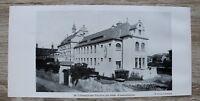 1 Blatt 1929 Bamberg Krankenhaus Chirurgischer Pavillon Architektur Ofr 23x11cm
