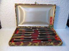 12 couteaux de table en corne St Joanis