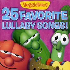 VeggieTales - 25 Favorite Lullaby Songs [New CD]