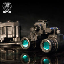 FMA Airsoft Binocular Helmet NVG PVS31  Dummy w/ Light Function Version B Army