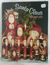Santa Claus Sampler by Elaine Thompson 1989 Tole Instruction Painting Art Book