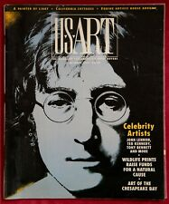 JOHN LENNON * US ART MAGAZINE * COVER & STORY! 1991