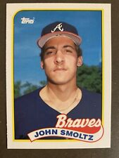HOFer John Smoltz 1989 TOPPS TIFFANY ROOKIE #382  (clean!)